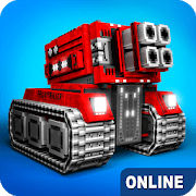 Blocky Cars Online v7.5.3 Mod APK god mode