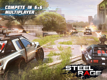 Steel Rage Mech Cars PvP War Twisted Battle 2020 v0.156 Mod APK Unlimited ammo/no reload