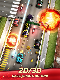Chaos Road Combat Racing 1.6.3 God mode/No ads