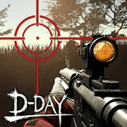 Zombie Hunter D-Day v1.0.801 Mod APK Lots of Money Gold No Ads
