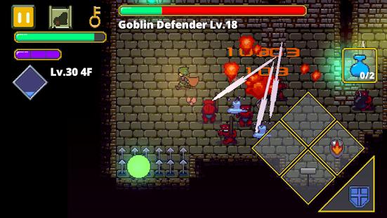 Dungeon Quest Action Rpg Labyrinth Legend V1 17 Mod Apk High Dmg
