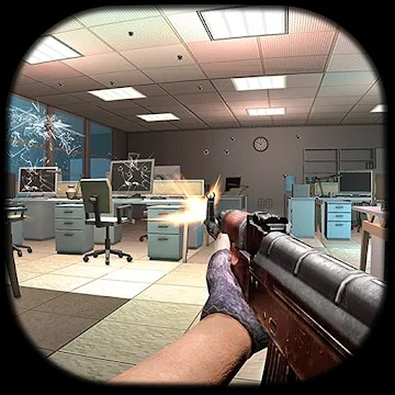 Destroy Boss Office Destruction FPS Shooting House v1.8 Mod APK god mode