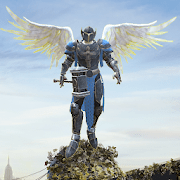 Crime Angel Superhero Vegas Air Strike v1.1.0 Mod APK infinite energy